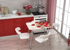 Стол  кухонный Клубника