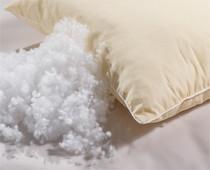 Подушка c наполнителем из силиконизированного волокна (холлофайбер)