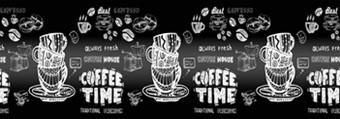 Стеновая панель Кофе time