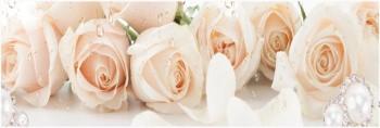 Стеновая панель Чайные розы