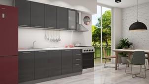 Кухня 2,0 металлик