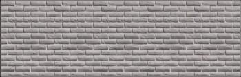 Стеновая панель Кирпич ретро белый